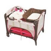 Graco Pack N Play Playard With Newborn Napper Station Dlx Jacqueline Pack N Play Pack And Play Graco Pack N Play
