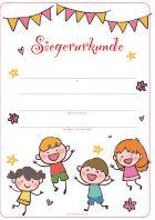 Kinder Siegerurkunde Lachende Kinder Urkunde Vorlage Urkunde Lachende Kinder