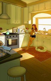 15 ilustrações que mostram perfeitamente a felicidade de morar sozinho – Hist…
