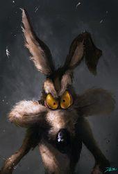 Haunting Comedian Ebook & Film Character Illustrations