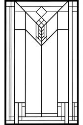 frank lloyd wright stained glass patterns free - Google Search   Opt ...