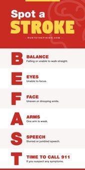 BE FAST: Understanding Stroke Symptoms - RunToTheFinish 1