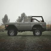 Classic Ford Broncos   1966 – 1977 Early Model Ford Broncos