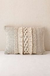 Slide View: 2: Britta Center Shag Bolster Pillow
