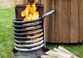 How to Build a Wood Fired Hot Tub   – Backyard stuff