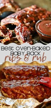 The Best Oven Baked Baby Back Ribs and Dry Rub