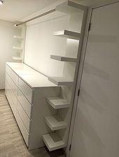 """Ankleidezimmer mit drei Ikea-Möbeln """"malm"""", zwei Ikea-Möbeln """"mangel"""" und einem – Claire C. – Wohnideen"""