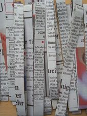 Making newspaper yarn – HANDMADE culture