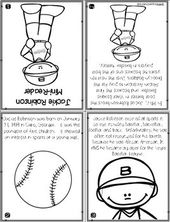 Draw Me Jackie Robinson Directed Drawing With Images Jackie