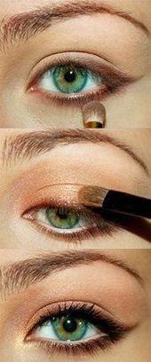 #Default #Domain #Page Wie man Augen-Make-up für einen Caramel Eye Look macht  …