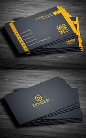 Free Business Cards Psd Templates 6 Branding Businesscardtemplate Businesscar Melhores Cartoes De Visita Cartoes Originais Cartoes De Visita Profissionais