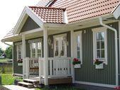 ▷ 1001+ tolle Ideen für amerikanisches Holzhaus mit Veranda