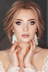 15 SOFT WEDDING MAKEUP INSPIRIERENDE IDEEN