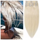 "Summer Blonde Hair Extensions – Straight Hair 24"" 185g"