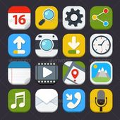 Mobile Applications Icons — Vector EPS #internet #website • Available here → graphicriver.net/…