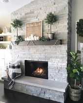 32 Easy Fireplace Makeover for the winter – #the …