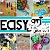 Einfache Kunstaktivitäten für Dreijährige  – SLP
