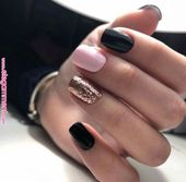35 Trendy Nail Designs For Brief Nails