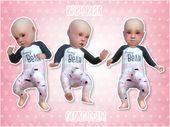 Sims 4 CC's – Das Beste: Baby Bear Pink von Georgiaglm   – Sims 4 CC's – The Best