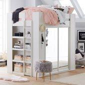 Sleep & Style Garderobe Hochbett – #Bett #utensilien #Loft #Schlaf #Stil #