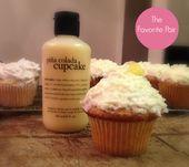 Cupcakes inspiriert von den sabberwürdigen #Philosophy Badeprodukten! Philosophie #cak … – Yum