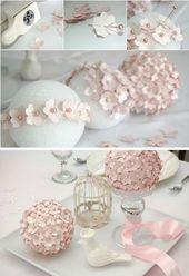 40 DIY Hochzeitsdekoration Ideen – Schöne Hochzeitsdekoration Do It Yourself   – Hochzeitsdeko Ideen