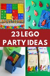 The best Lego birthday party ideas. Plan your kids Lego birthday party with some…