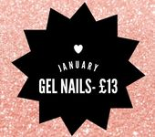 🖤.. HERE IT IS ..🖤 • All gel nails will be £13 per set- usually £15➡…