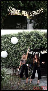 Same Penis Forever Glitter Bannerbachelorette party decorations photo prop bache…
