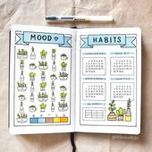 10 Mood Tracker Bullet Journal Ideas You Need To Try – TheFab20s