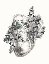 Baby Ilustration The Language of Birth • By Stepha Lawson. Birth Art, Birth Inspiration, Pregna...