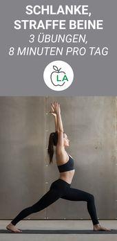 Effektives Frauen Beintraining für zuhause – Die 3 besten Übungen