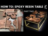 How to Make an Epoxy Resin Table–Part Two of Two …