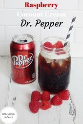 Raspberry Coconut Cream Dr. Pepper – Drink NonAlcoholic – #Coconut #Cream #Drink…  – Part