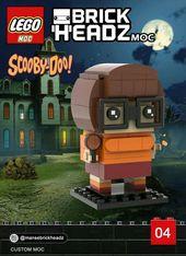 Lego Brickheadz – Scooby Doo Gang – Erstellung von MOC – Nur PDF-Anweisungen …   – Like