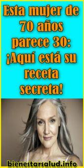 Esta mujer de 70 años parece 30: ¡Aquí está su receta secreta! – Bienestar S…