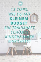 Kinderzimmer mit kleinem Budget – so geht das…