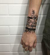 Armband Tattoo – Tolle und originelle Designs für Männer und Frauen in Bildern – Dekoration Haus