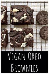 Vegane Oreo Brownies – Lebensmittel von Ayaka