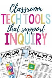 Classroom Tech Tools That Support Inquiry » Madly Learning