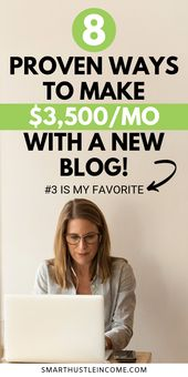 How To Make Money From Blogging: 8 Proven Ways