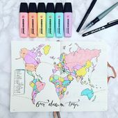 ihre Pastell 35+ Pastell Bullet Journal Layout-Ideen | Mein inneres kreatives Es ist t …   – Haar