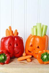 Gesunde Halloween-Snacks und mehr Ideen für den Herbstspaß von HueTrition   – Party Ideas