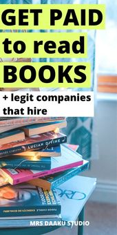 Get Paid To Read Books – 15+ sites to make money reading – Lee Ann Pons