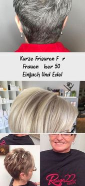 Short Hairstyles For Women Over 50 – Simple And Classy