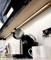 Ultra Bright Slimline Linkable Led Strip Light Easily Installed Under Kitchen Cabinets Strip Lighting Under Shelf Lighting Kitchen Led Lighting