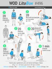 Musculation jambes et fessiers (PDF à télécharger)