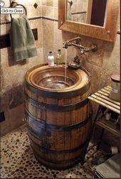 Country Outhouse Bathroom Decor Ideas