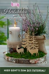 DIY: hübsche Herbstdeko für den Tisch – DIY: hübsche Herbstdeko selbermachen