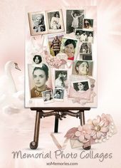 Personalised Photograph Memorial Collage Boards on-line. Merely add your photographs and…